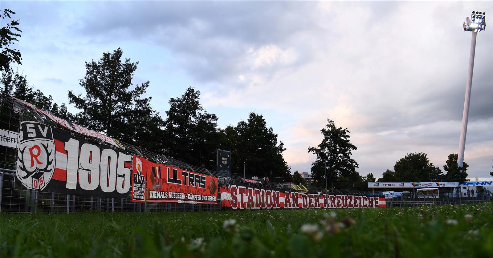 Fussball Signal An Die Region Aus Dem Kreuzeichestadion Zum Oberliga