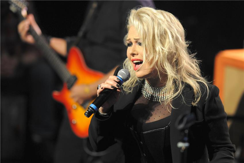 Kim Wilde beim Seebronner Rock of Ages 2017