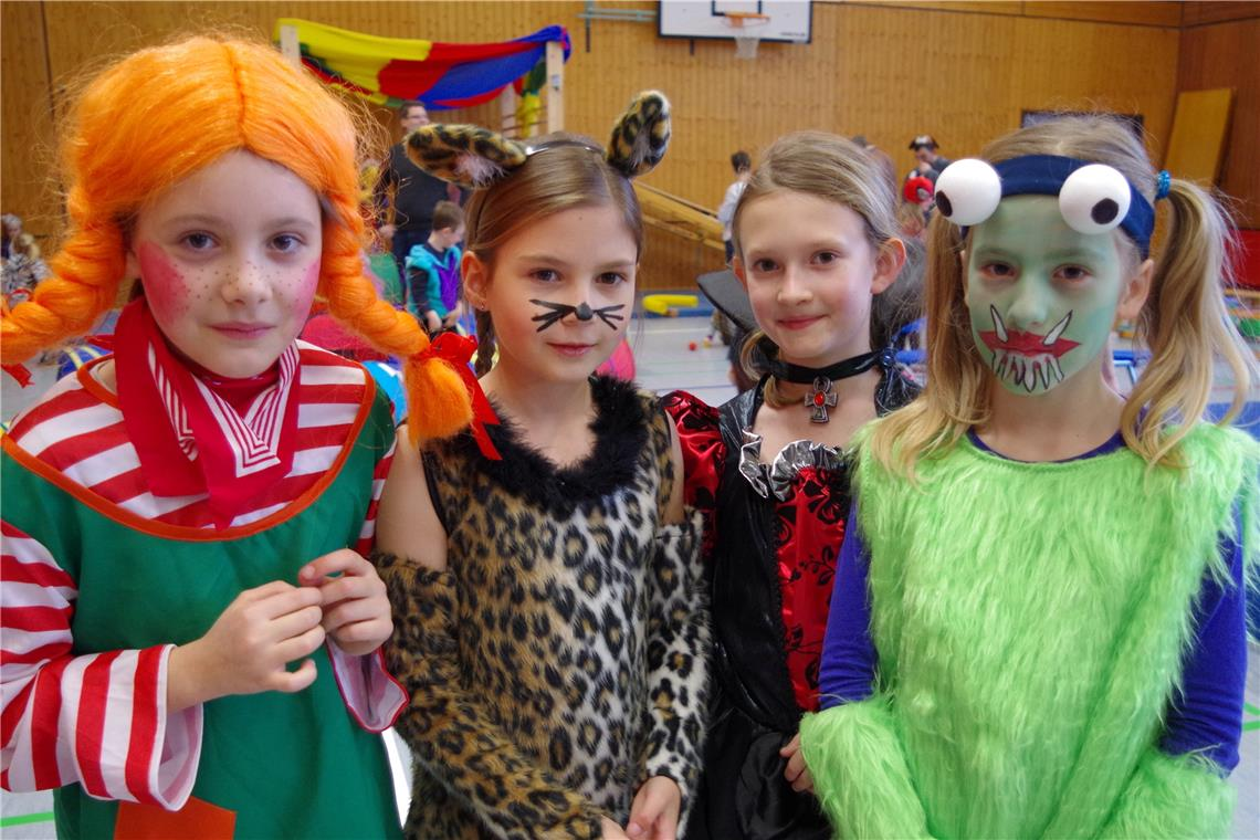 In Bodelshausen war Kinderfasnet mit Zirkus-Motto