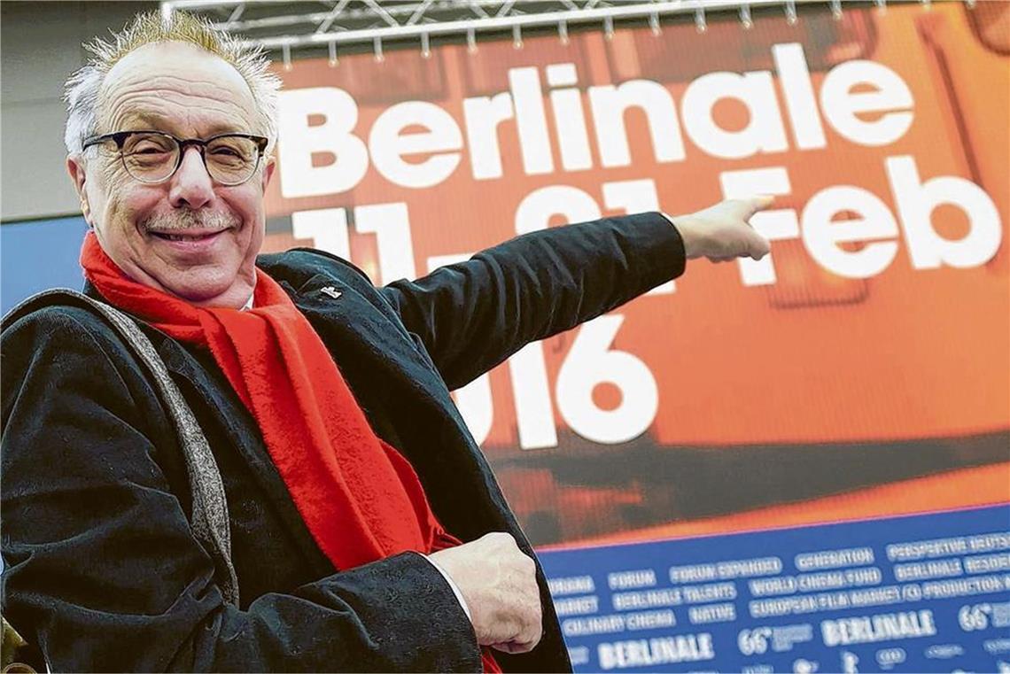 "Energetisch: ""Mr. Berlinale"" Dieter Kosslick"